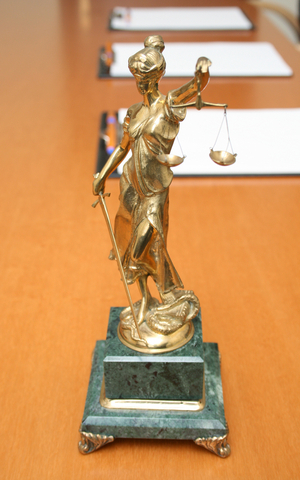 lady justice statute
